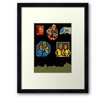 Push To Reject: Xenophobe! Framed Print