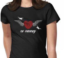 No Vacancy - Dark Womens Fitted T-Shirt