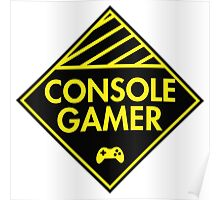 Console Gamer (Yellow) Poster