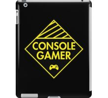 Console Gamer (Yellow) iPad Case/Skin