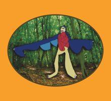 Fly dinosaur fly! by lexasaurus
