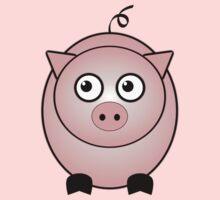 Little Cute Piggy One Piece - Long Sleeve