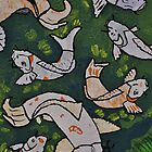 Koi Pond by Kim McClain Gregal
