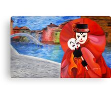 Hat Man Canvas Print
