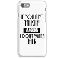 Magcon  iPhone Case/Skin