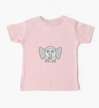 Little Cute Elephant Baby Tee