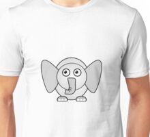 Little Cute Elephant Unisex T-Shirt