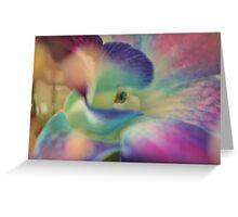 Purple Flower, As Is Greeting Card