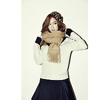 GIRLS' GENERATION - Jessica Jung - Blanc & Eclare - Full Color Photographic Print