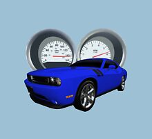 Challenger With Dash Cluster as Background Unisex T-Shirt
