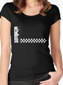 SKA (inverted) Women's Fitted Scoop T-Shirt