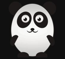 Little Cute Panda One Piece - Short Sleeve