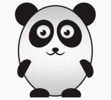 Little Cute Panda Kids Tee