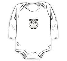 Little Cute Panda One Piece - Long Sleeve