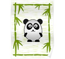 Little Cute Panda Poster