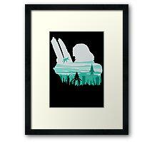 Reaper invasion of Earth (Femshep) Framed Print