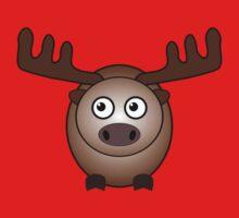 Little Cute Moose Kids Tee