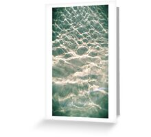 Let the sea set you free Greeting Card