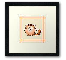 Little Cute Kitty Framed Print