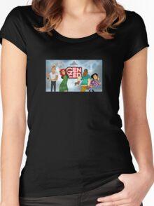 Gen Zed Dancers Women's Fitted Scoop T-Shirt