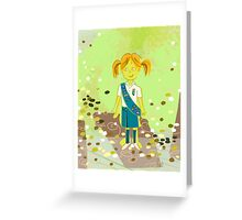 Girl Scout Cookies Greeting Card