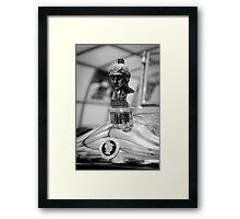 Minerva - Vintage car museum  Framed Print