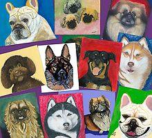 Pet Portraits by Ania M. Milo by AniaMMilo