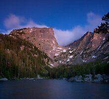 Sunrise at Dream Lake by David Michael Webb