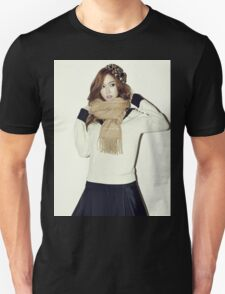 GIRLS' GENERATION - Jessica Jung - Blanc & Eclare - Full Color Unisex T-Shirt
