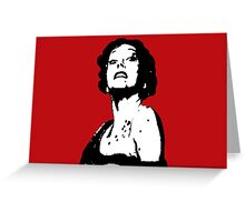 Norma Desmond Greeting Card