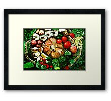 The Harvest Framed Print