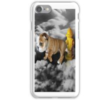 ☀ ツ UP IN THE CLOUDS WHAT DO I SEE A FIRE HYDRANT JUST WAITING FOR ME (SENDING EMAIL) IPHONE CASE☀ ツ  iPhone Case/Skin