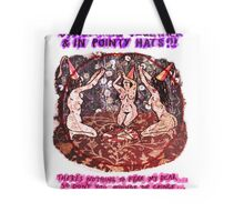 Pregnancy: Women in Pointy Hats Tote Bag