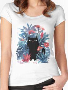 Popoki  Women's Fitted Scoop T-Shirt