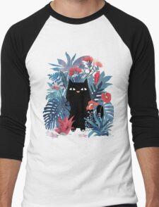 Popoki  Men's Baseball ¾ T-Shirt