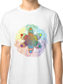 Six Color Red-Orange-Yellow-Green-Blue-Purple Classic T-Shirt