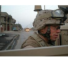 Marines in Fallujah  Photographic Print