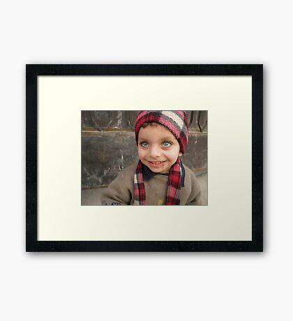 Fallujah Child Framed Print