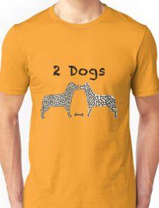 2 Dogs  T-Shirt