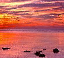 Mornington Peninsula - Sunset by Ben  Cadwallader