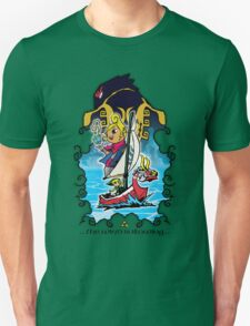 The Wind Is Blowing - Windwaker Fanart Unisex T-Shirt