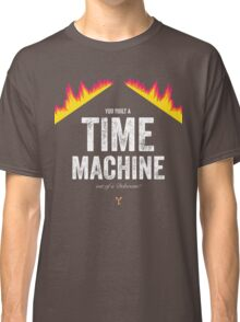 Cinema Obscura Series - Back to the future - Time Machine Classic T-Shirt
