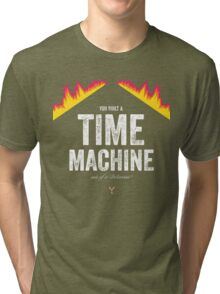 Cinema Obscura Series - Back to the future - Time Machine Tri-blend T-Shirt