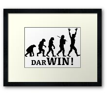 Science for the Win Framed Print