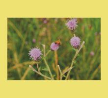Flower Art Buzz -- Bee One Piece - Short Sleeve