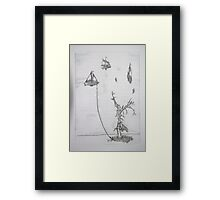 Anchored to Earth  Framed Print
