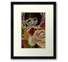 Sally's doll that she receievd after an operation in 1984... or maybe it was 1985? Framed Print