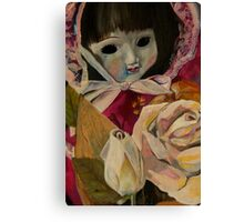 Sally's doll that she receievd after an operation in 1984... or maybe it was 1985? Canvas Print