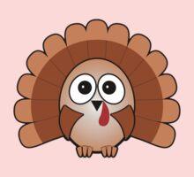 Little Cute Turkey One Piece - Long Sleeve