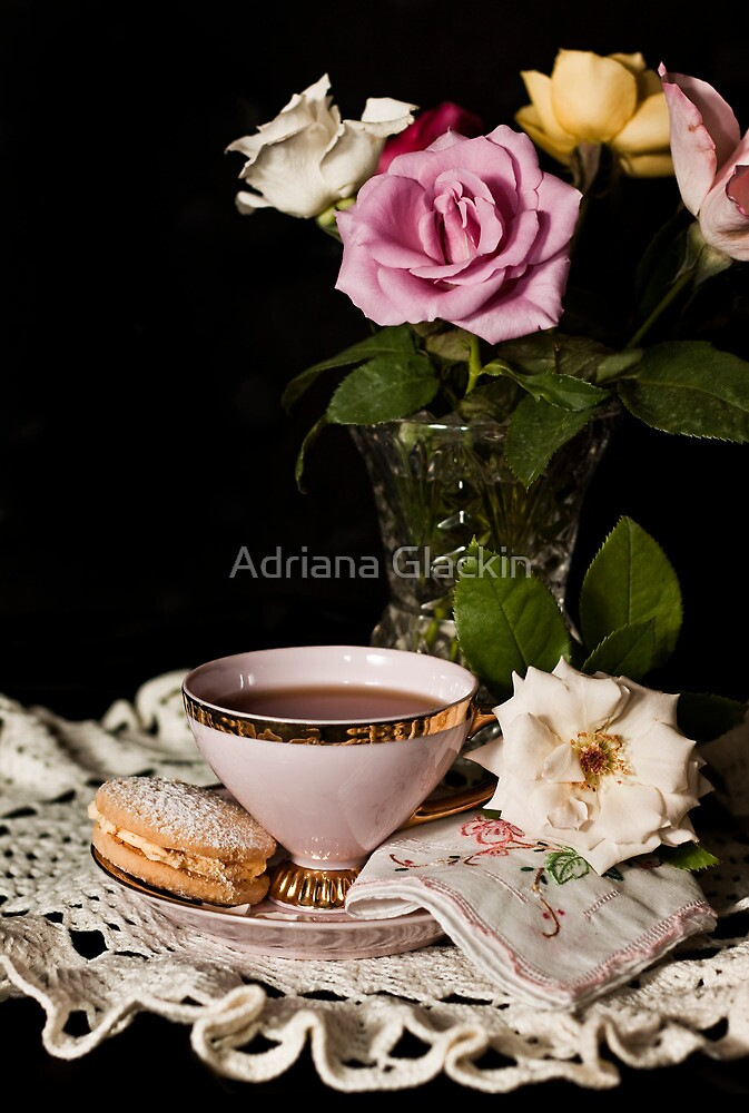 Still Life with Melting Moment by Adriana Glackin